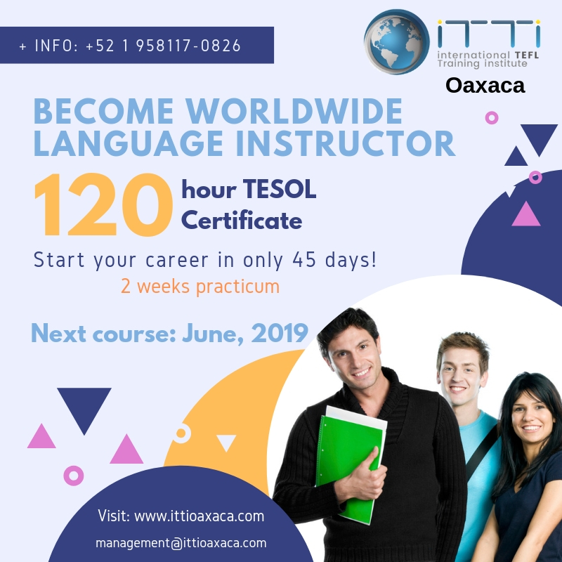 Become a worldwide language instructor