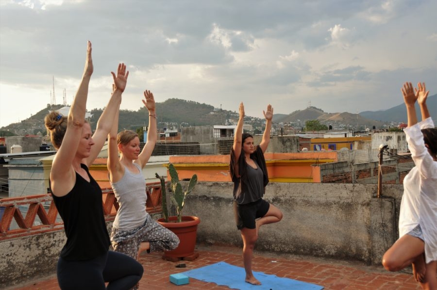Rooftop Yoga Classes