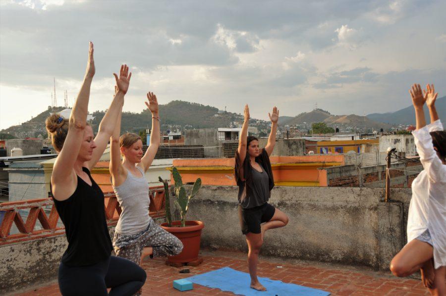 Rooftop Yoga Classes
